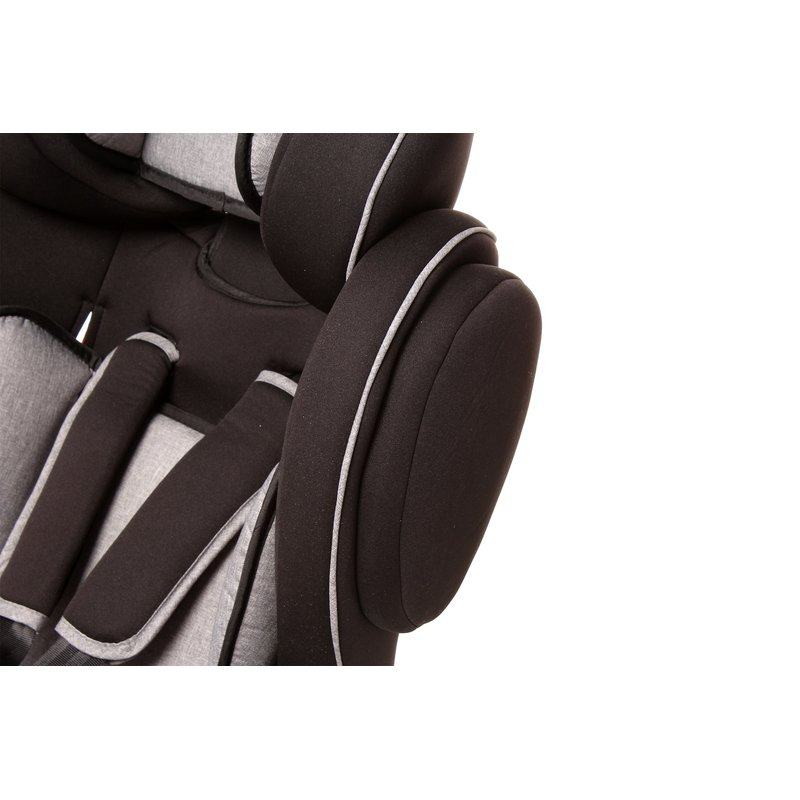 osann autositz flux isofix grey melange ece gruppe 1 2 3. Black Bedroom Furniture Sets. Home Design Ideas