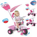 Smart Trike Fresh 3in1 weiß/pink
