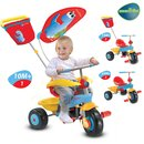 Smart Trike Candy 3in1 blau/gelb/rot