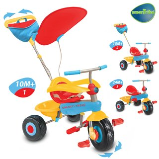 Smart Trike Candy 3in1 orange/blau