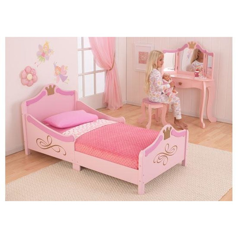 kidkraft princess junior bett 249 90. Black Bedroom Furniture Sets. Home Design Ideas